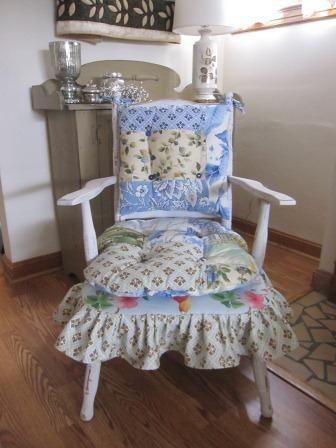 restyled Cricket chair wwwhandmadebymargocom I have a