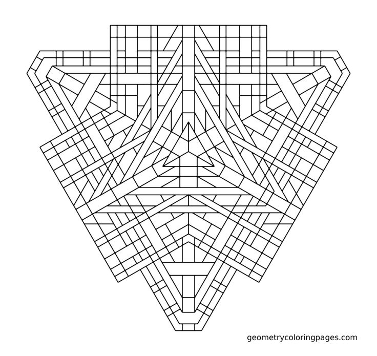 54 best images about Coloring: Geometric on Pinterest