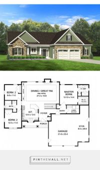Best 25+ Ranch floor plans ideas on Pinterest | Ranch ...