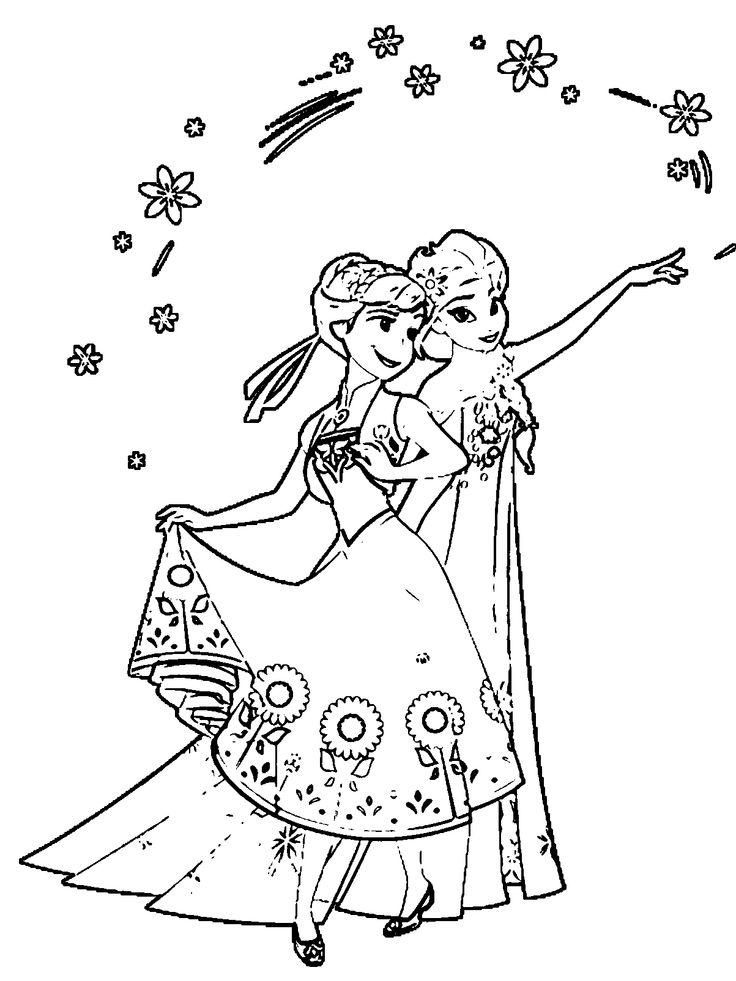 elsa frozen fever coloring page 17 best images about