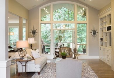 Vaulted Living Room On Pinterest Vaulted Ceilings Open