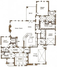 eclectic house plans - 28 images - arts and crafts home ...