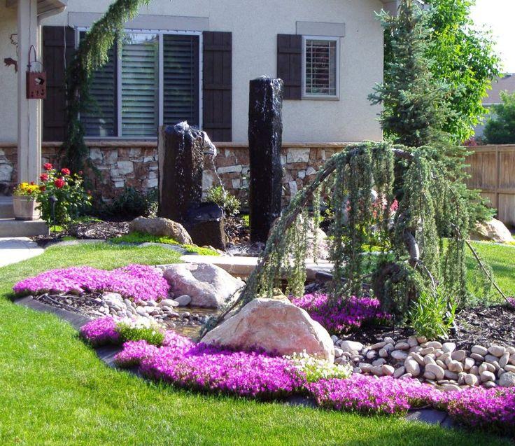 25 Best Ideas About Front Yard Garden Design On Pinterest Front