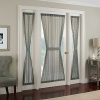 25+ best ideas about Front door curtains on Pinterest ...