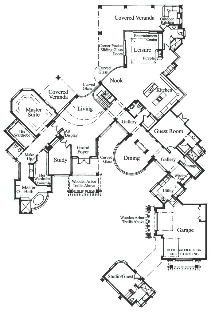 Ultra Modern House Plan Luxury Ultra Modern House Plans