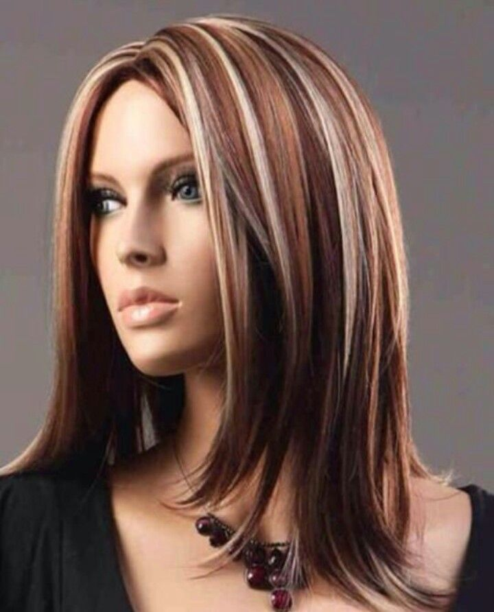 25 Best Ideas About Medium Hair Highlights On Pinterest Brown