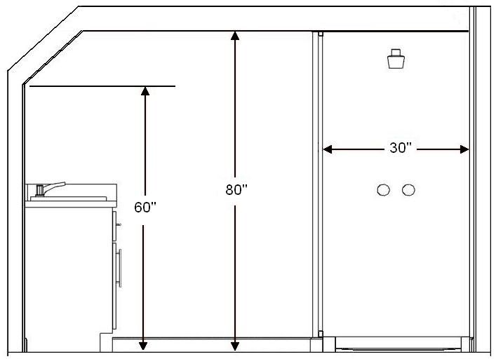 Bathroom Ceiling Height Building Code Requirement