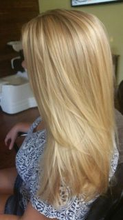 golden blonde hair ideas