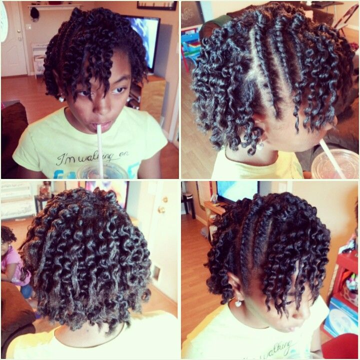 Natural Kids Twist Outs A Collection Of Hair And Beauty Ideas To