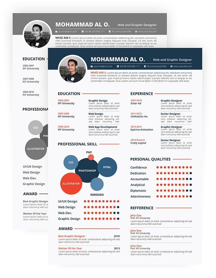 1000 ideas about Free Creative Resume Templates on