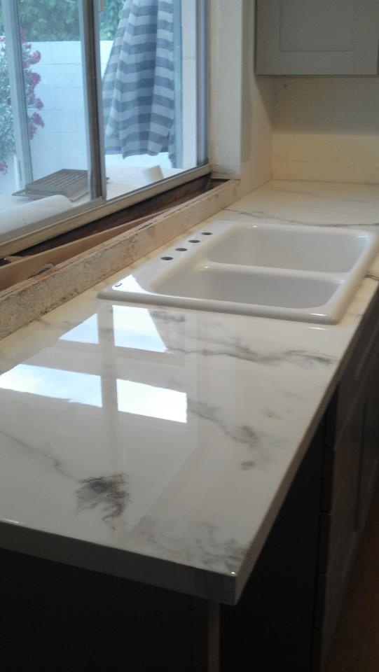 Faux Marble Countertop  Granicrete 480paintingcom