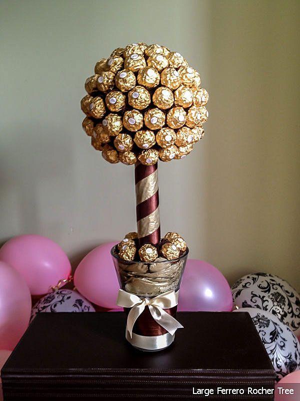 Ferrero Roche tree  Wedding ideas for friends and family  Pinterest  Trees