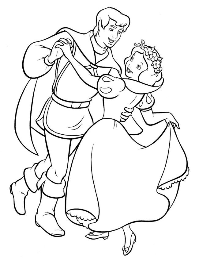1000+ ideas about Snow White Coloring Pages on Pinterest