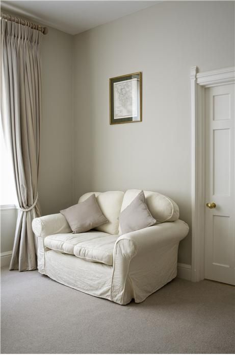 Farrow and Ball Old White  LivingDining Room Inspiration