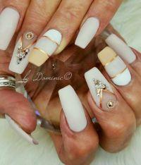 25+ best ideas about Rhinestone nail designs on Pinterest ...