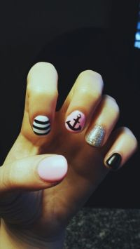 11 best images about anchor toe nail art on Pinterest ...