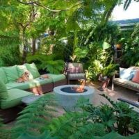 Tropical decor my new back yard | My wonderful world of ...