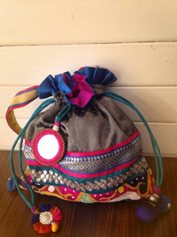 Potli bag  Bags  Pinterest  Bags Jewelry and Handmade