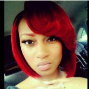 red hair colored dyed