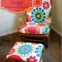 How To Recover Glider Rocking Chair Cushions Black Office 17 Best Ideas About Rockers On Pinterest | Redo, And ...