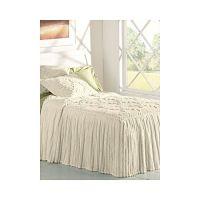 LinenSource Home Drop Ruffle Chenille Bedspread - King ...