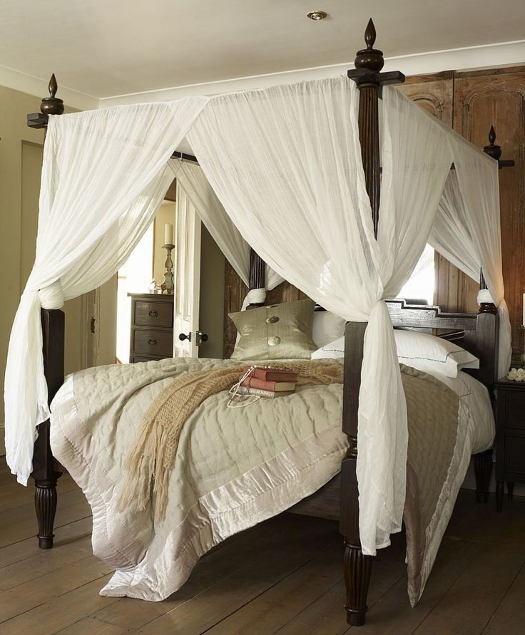 The 25 Best Ideas About Canopy Bed Curtains On Pinterest Bed