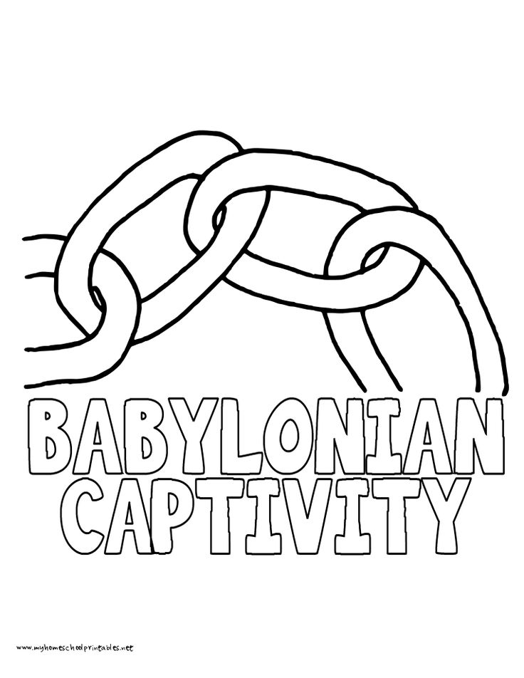 17 Best ideas about Babylonian Captivity on Pinterest