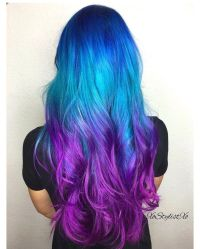 Best 25+ Blue purple hair ideas on Pinterest | Crazy ...
