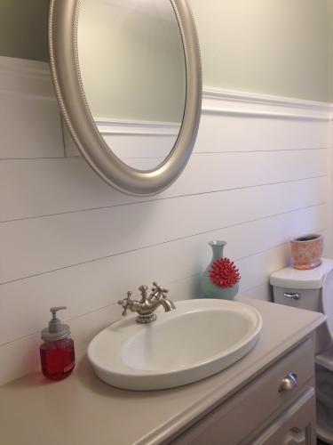 KOHLER Serif DropIn Vitreous China Bathroom Sink in White