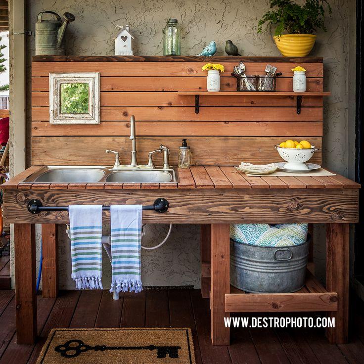 25 Best Ideas About Outdoor Kitchen Sink On Pinterest