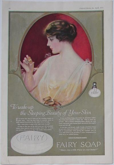 Fairy Soap Vintage Toilette Pinterest Products