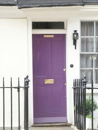 1000+ ideas about Purple Front Doors on Pinterest | Front ...