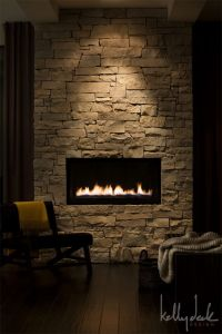 For angled wall like fireplace set in off the floor, use ...