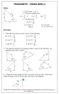 Remedial Math Worksheets For High School - reading lesson ...