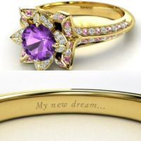 Tangled themed ring | My Future Wedding Ideas | Pinterest ...