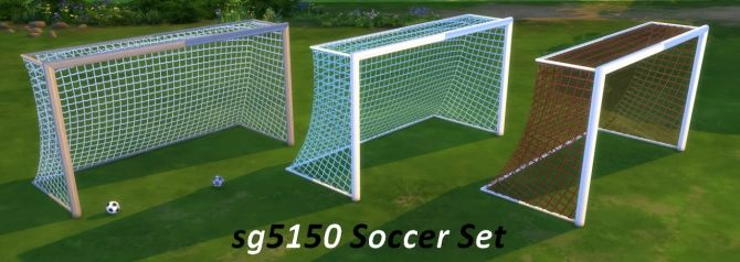 Soccer Set at SG5150 via Sims 4 Updates  Sims4 objects