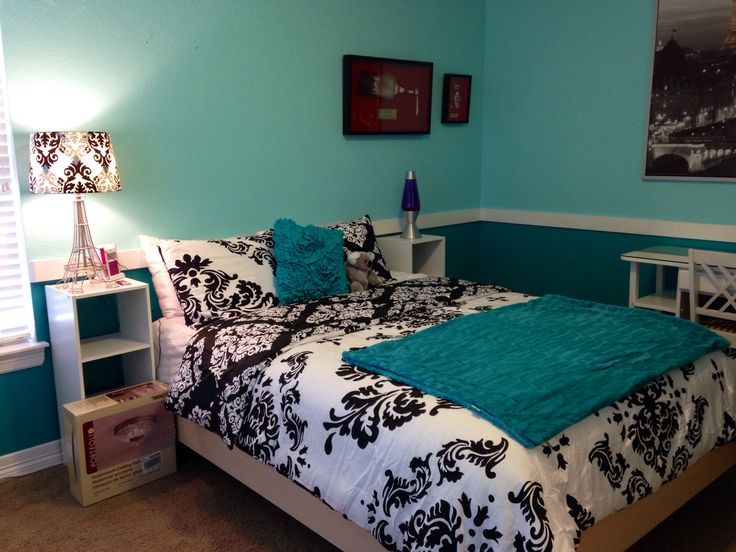 1000 ideas about Turquoise Teen Bedroom on Pinterest