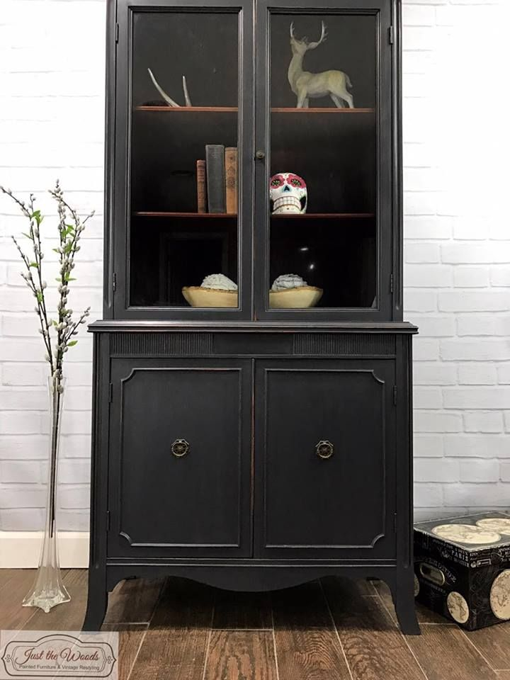 17 Best ideas about China Cabinet Painted on Pinterest
