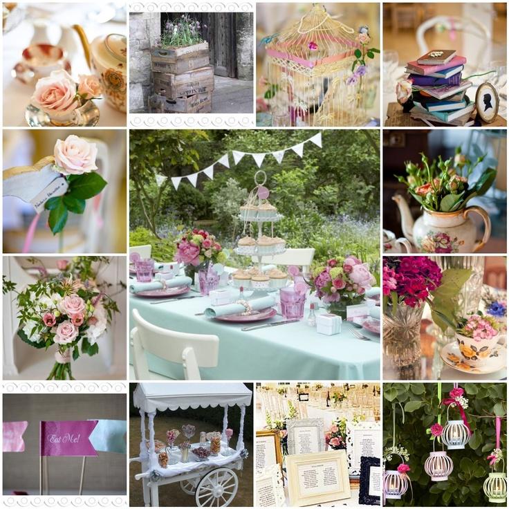 Garden Party Wedding Theme Ideas Alice In Wonderland Wedding
