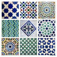 Moroccan Tile Design for Living Room and Terrace: Moroccan ...