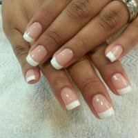 Gel French manicure | Gel nail ideas(: | Pinterest ...