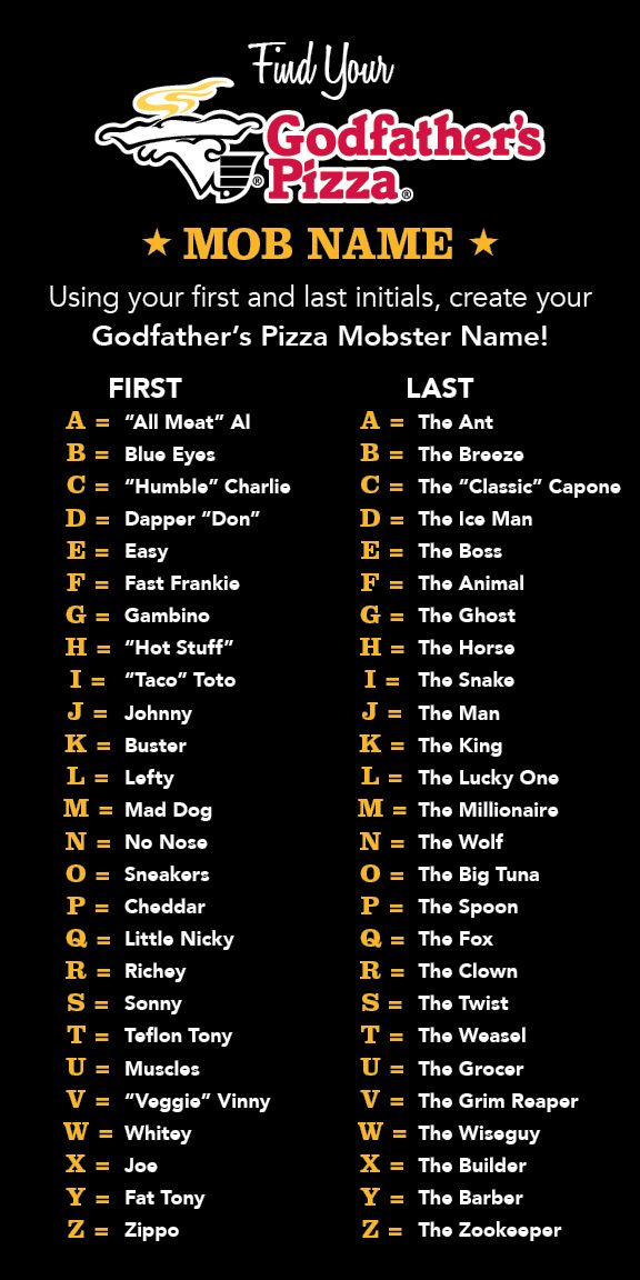 Trucker Girl Wallpaper Create Your Godfather S Pizza Mob Name Godfatherspizza