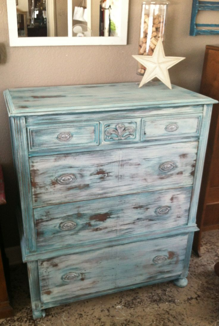 Antique Dresser using Dixie Belle chalk paint and Real Milk Paint yes you can layer using both