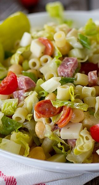 Italian Chopped Salad – Fla