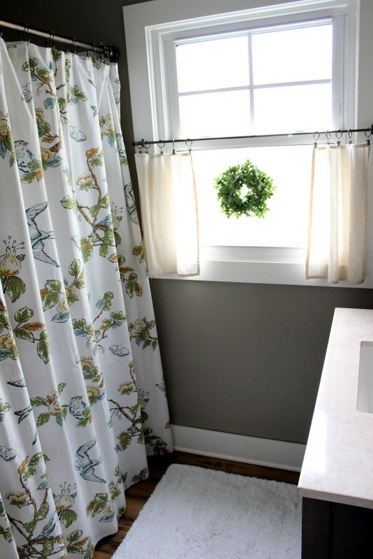 25 Best Ideas About Bathroom Window Curtains On Pinterest