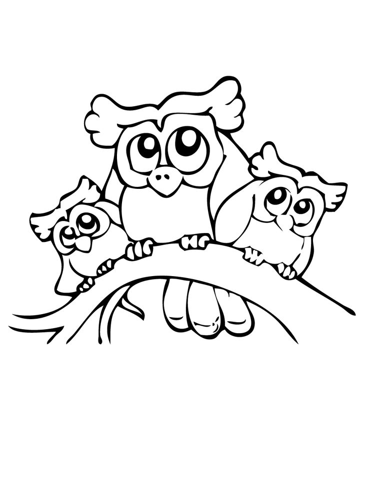 17 Best images about Coloring pages: Animals on Pinterest