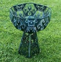 Skull fire pit | Home | Pinterest | Fire pits, Fire and Skulls