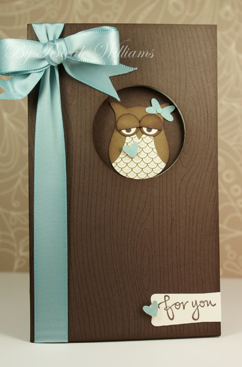 Stampin' Up! – Owl Builder Punch (Outside)