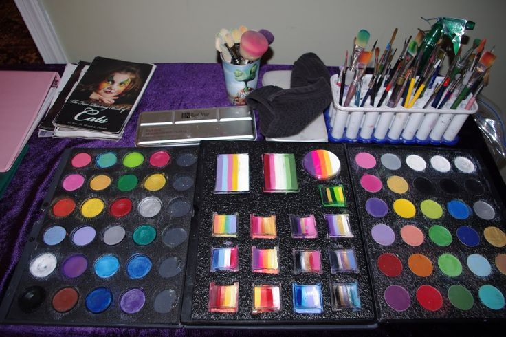 professional makeup chair uk covers wedding surrey 1000+ images about face painting kit and storage on pinterest | case ...