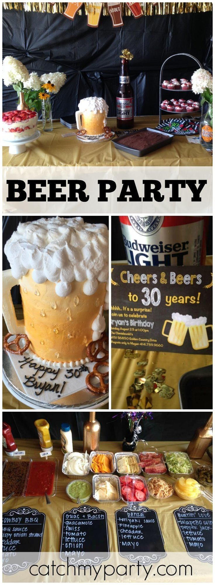 17 Best ideas about Mens 30th Birthday on Pinterest  Surprise 30th birthday 30th birthday